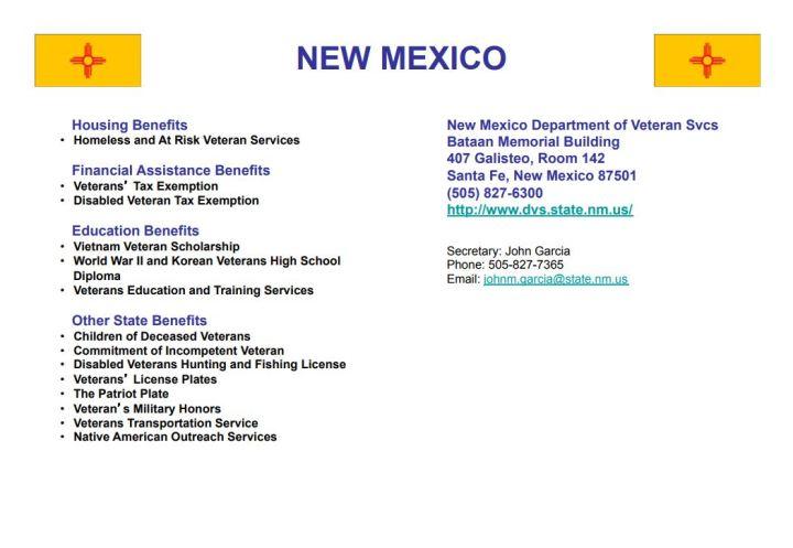 32 - New Mexico