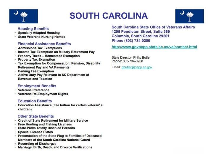 40 - South Carolina