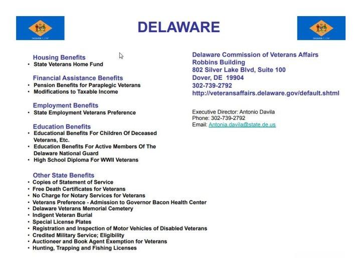 8 - Delaware